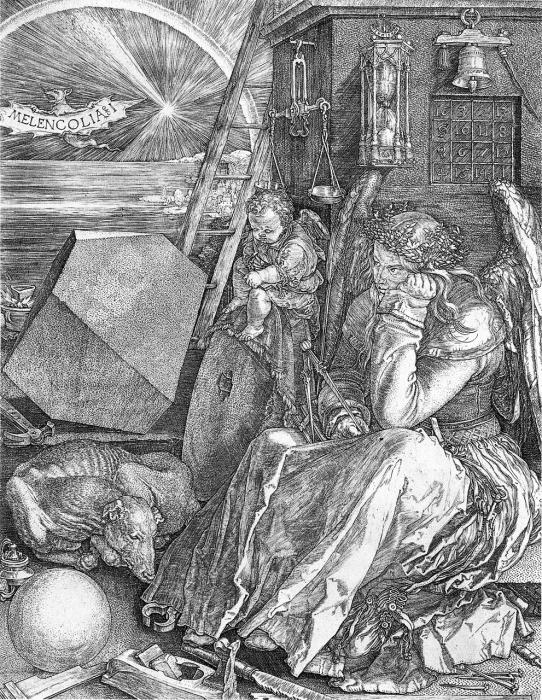 Melencolia I von Albrecht Dürer