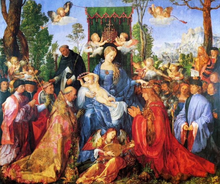 The Rosary Festival by Albrecht Dürer