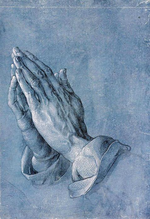 Betende Hände (Zeichnung)