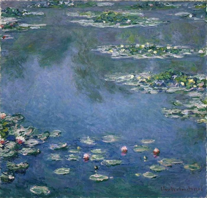 Seerosen Wasserlilien (Giverny)