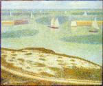 Einfahrt zum Hafen Port-en-Bessin