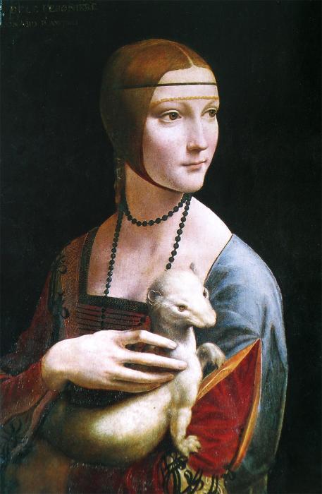 Dame mit dem Hermelin