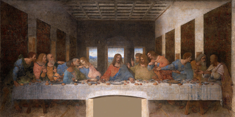 Leonardo Da Vinci Das Letzte Abendmahl