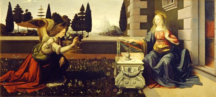 Die Verkündigung (Maria und Egel)