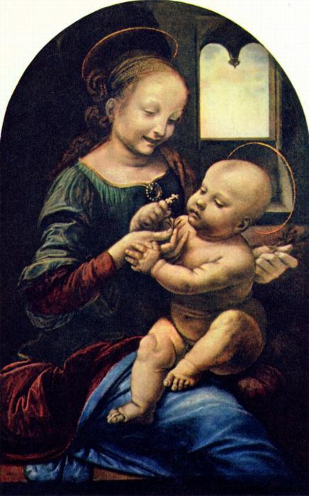 Madonna Benois (Maria mit Kind)