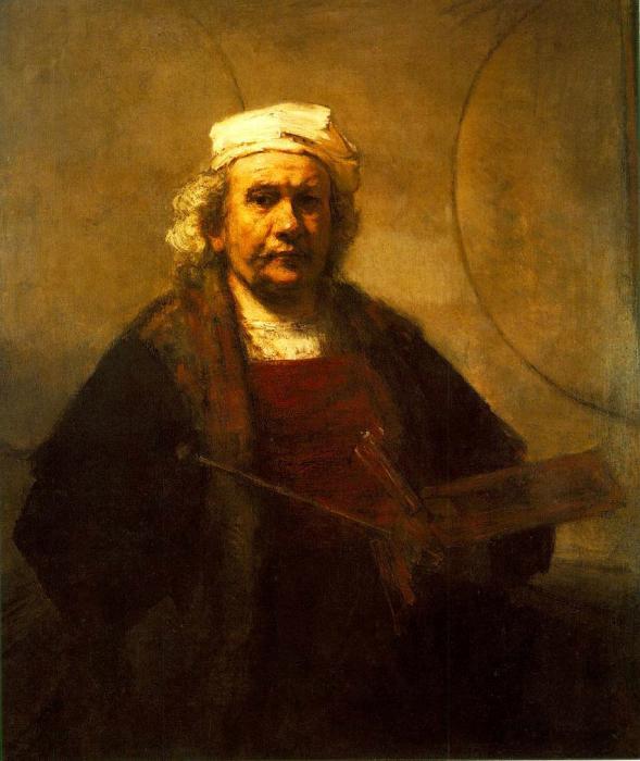Rembrandt van Rijn Selbstportrait (1665)