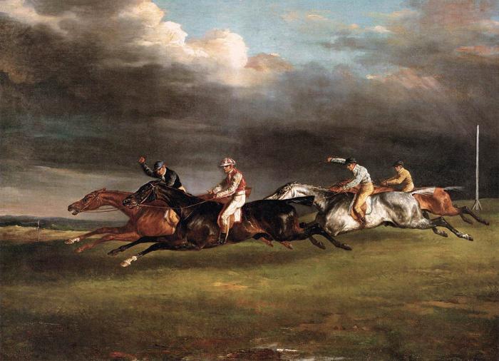 Das Epsom Derby Pferderennen