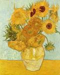 12 Sonnenblumen (Stillleben)
