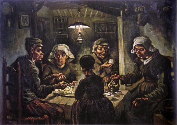 Die Kartoffelesser