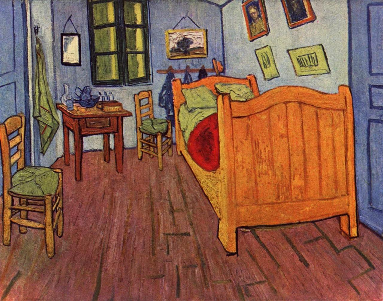 Schlafzimmer Kunst Bernd : Schlafzimmer Von Van Gogh Vincent